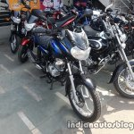 2017 Bajaj Discover 125 BSIV reaches dealership front three quarter