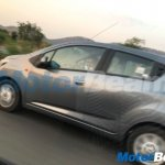 2017 Chevrolet Beat left side spy shot