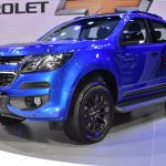 2017 Chevrolet Colorado High Country STORM (facelift) front three quarter at BIMS 2017