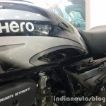 2017 Hero Splendor Plus BSIV at dealership fuel tank