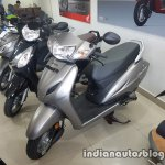 2017 Honda Activa 4G BSIV reaches dealership front three quarter