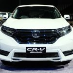 2017 Honda CR-V Modulo front launched