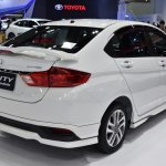 2017 Honda City Modulo (facelift) rear three quarter at the BIMS 2017