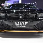 2017 Honda Civic Hatchback front at the BIMS 2017