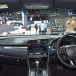 2017 Honda Civic Hatchback interior at the BIMS 2017