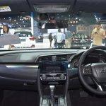 2017 Honda Civic Hatchback interior at the BIMS 2017