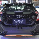 2017 Honda Civic Hatchback rear at the BIMS 2017