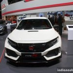 2017 Honda Civic Type-R front at the Geneva Motor Show