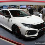 2017 Honda Civic Type-R front three quarter at the Geneva Motor Show