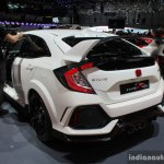 2017 Honda Civic Type-R rear quarter at the Geneva Motor Show