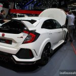 2017 Honda Civic Type-R rear three quarter at the Geneva Motor Show