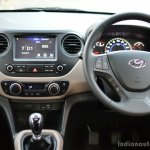 2017 Hyundai Grand i10 1.2 Diesel (facelift) driver area Review