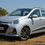 2017 Hyundai Grand i10 1.2 Diesel (facelift) front three quarter left Review