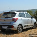 2017 Hyundai Grand i10 1.2 Diesel (facelift) rear quarter Review