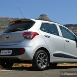 2017 Hyundai Grand i10 1.2 Diesel (facelift) rear three quarter low Review