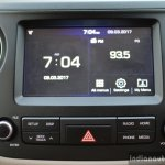2017 Hyundai Grand i10 1.2 Diesel (facelift) touchscreen display Review