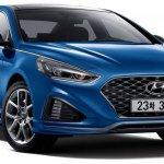 2017 Hyundai Sonata Turbo front three quarters