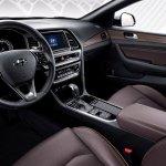 2017 Hyundai Sonata (facelift) dashboard