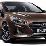 2017 Hyundai Sonata (facelift) front three quarters right side