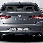 2017 Hyundai Sonata (facelift) rear