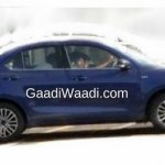 2017 Maruti Swift Dzire (3rd gen) side spied undisguised