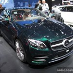2017 Mercedes E-Class Coupe front at the 2017 Geneva Motor Show