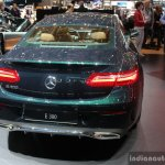 2017 Mercedes E-Class Coupe rear at the 2017 Geneva Motor Show