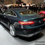 2017 Mercedes E-Class Coupe rear three quarter at the 2017 Geneva Motor Show