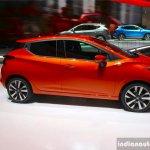 2017 Nissan Micra side Geneva Motor Show Live