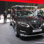 2017 Nissan Qashqai front at the 2017 Geneva Motor Show