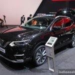 2017 Nissan Qashqai front three quarter at the 2017 Geneva Motor Show