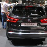 2017 Nissan Qashqai rear at the 2017 Geneva Motor Show