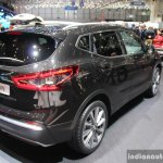 2017 Nissan Qashqai rear three quarter at the 2017 Geneva Motor Show