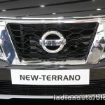 2017 Nissan Terrano (facelift) grille launched