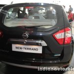 2017 Nissan Terrano (facelift) rear launched