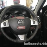 2017 Nissan Terrano (facelift) steering wheel launched