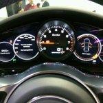 2017 Porsche Panamera instrument panel