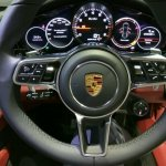 2017 Porsche Panamera steering wheel controls