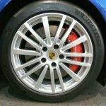 2017 Porsche Panamera wheel