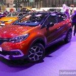 2017 Renault Captur (Facelift) front three quarter Geneva Motor Show Live