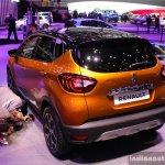2017 Renault Captur (Facelift) rear quarter Geneva Motor Show Live