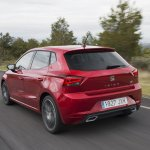 2017 Seat Ibiza rear three quarter