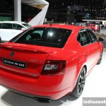 2017 Skoda Octavia RS 245 rear quarter at the 2017 Geneva Motor Show