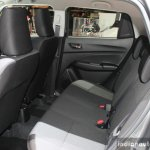 2017 Suzuki Swift (2017 Maruti Swift) rear seat Geneva Live