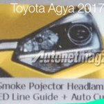 2017 Toyota Agya TRD S (facelift) headlamp