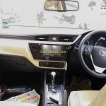 2017 Toyota Corolla Altis (facelift) dashboard spied ahead of launch