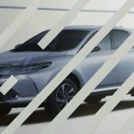 2017 Toyota Harrier (facelift) front three quarter leaked