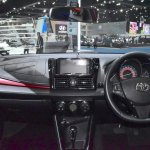 2017 Toyota Yaris sedan (Vios) dashboard showcased at BIMS 2017