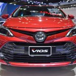 2017 Toyota Yaris sedan (Vios) front showcased at BIMS 2017