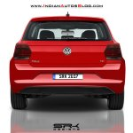 2017 VW Polo rear rendering